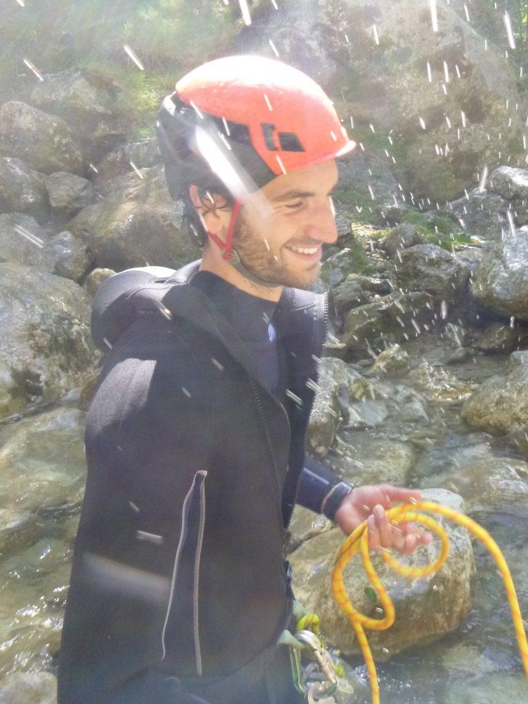 guide indépendant de canyoning